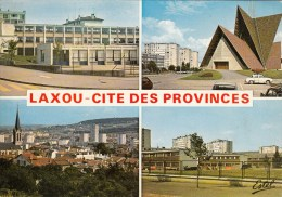 54 - Laxou - Cité Des Provinces : Multivues - CPM écrite - Other Municipalities