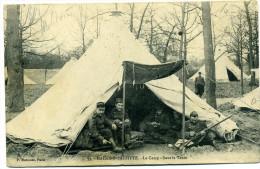 Cpa Maisons-Laffitte Le Camp Sous La Tente P. Marmuse N° 59 - Manoeuvres