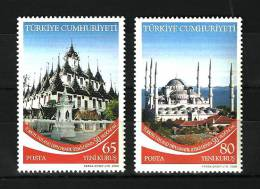 Turkey - 2008 - ( 50th. Anniv. Of Turkey / Thailand Diplomatic Relations ) - Set Of 2 - MNH (**) - 1921-... República