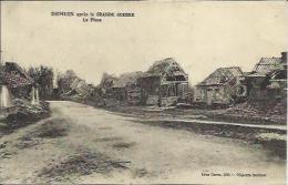 CPA De DEMUIN Après La Grande Guerre - La Place. - France