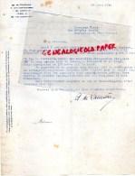24 - MUSSIDAN - DE FOURNILS  SAINT LAURENT DES HOMMES-1944- A. DE LAURIERE- M. FIXOT ROCHECHOUART - 1900 – 1949