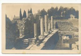 YUGOSLAVIA - CROATIA - Solin , Basilica Martyrum, Vintage Old Photo Postcard - Croatie