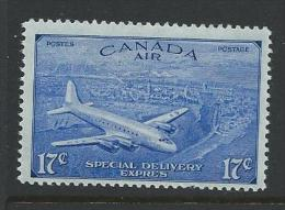 Canada 1946 - 17c Special Delivery Airmail Issue With Circumflex Accent SG S16 MNH Cat £4.50 SG2015 - Canada