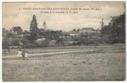 49 - SAINT-GEORGES-DES-SEPT-VOIES - Canton De Gennes - Moulins De La Lussière - LV 5 - Sonstige Gemeinden