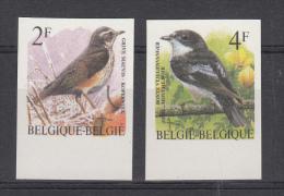Nr 2653/2654, Ongetand, Non-dentelee (X17315) - 1985-.. Oiseaux (Buzin)
