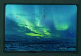 RUSSIA  -  The Northern Lights  Used Postcard As Scans - Russia