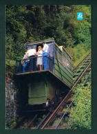 ENGLAND  -  Lynton And Lynmouth  The Cliff Railway  Used Postcard As Scans - Lynmouth & Lynton