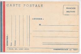 CARTE POSTALE - FRANCHISE MILITAIRE - Guerre 1914-18