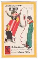 Levure Alsacienne Alsa Chimique Voiture - Publicité