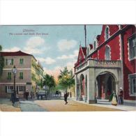 GBTTP1357-LFT2023.Tarjeta Postal De GIBRALTAR.Casa Roja En La CALLE REAL. - Gibilterra