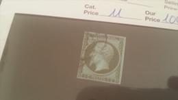 LOT 229127 TIMBRE DE FRANCE OBLITERE N�11 VALEUR 100 EUROS
