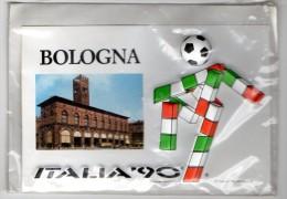 ITALIA 90 - BOLOGNA - CARTOLINA MASCOTTE IN RILIEVO - C932 - Bologna