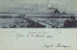 Lyon, Souvenir De Lyon Pont De La Guillotière - Lyon