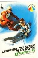 BORMIO VALTELLINA - CAMPIONATI DEL MONDO DI SCI ALPINO 1985 - C945 - Sondrio