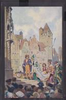 "Märchenpostkarte Paul Hey "" Jungfrau Maleen"" 1937 - Contes, Fables & Légendes"