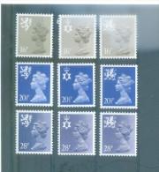 GRAN BRETAÑA 1082/1090 (9V) 1983-IVERT - 1952-.... (Elizabeth II)