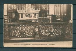 AERTSELAER: Twee Panneelen Der Merkwaardige Communiebank, Gelopen Postkaart (Uitg Desaix) (GA18759) - Aartselaar