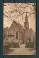 BOUWEL: Kerk, niet gelopen postkaart (Uitg De Blende) (GA19021)