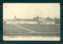 GROBBENDONCK: Zicht In Het Dorp, niet gelopen postkaart (Uitg Schreij) (GA19226)