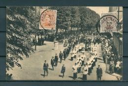 HOOGSTRAETEN: Heilig Bloed Processie, Gelopen Postkaart 1921 (Uitg Hamers) (GA19393) - Hoogstraten