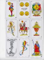 BARAJA ESPAÑOLA DE LAS CINCO JOTAS - Cartes à Jouer Classiques
