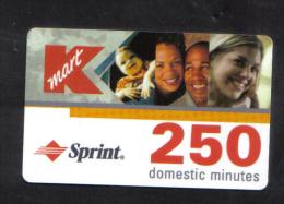 UNITED STATES - SPRINT  PHONECARD  (  K MART PHONECARD ) USED 1997 - LIMITED EDITION - Etats-Unis