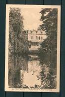 LINT: Gemeentehuis En Vijveromgeving, Niet Gelopen Postkaart (Uitg Van Den Eynde) (GA19503) - Lint