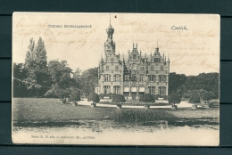 CONTICH: Chateau Groeiningenhof, gelopen postkaart 1903 (Uitg Hermans) (GA19522)