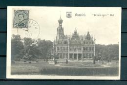 CONTICH: Groeningen Hof, niet gelopen postkaart (GA19524)