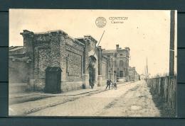 CONTICH: Caserne, niet gelopen postkaart (Uitg De Herdt) (GA19525)