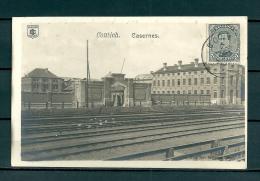 CONTICH: Casernes, gelopen postkaart 1921 (Uitg Jos Molemaekers) (GA19526)