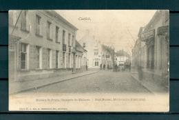CONTICH: Bureau De Poste, gelopen postkaart 1902 (Uitg Hermans) (GA19532)