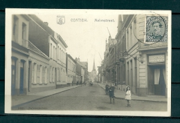 CONTICH: Molenstraat, gelopen postkaart 1921 (GA19533)