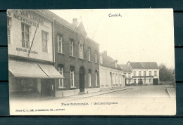 CONTICH: Gemeenteplaats, gelopen postkaart 1903 (Uitg Hermans) (GA19535)