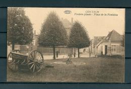 CONTICH: Fontein Plaats, niet gelopen postkaart (Uitg De Herdt) (GA19536)