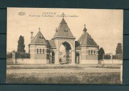 CONTICH: Poort Van't Kerkhof, niet gelopen postkaart (Uitg De Herdt) (GA19538)