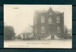CONTICH: Gemeentehuis, niet gelopen postkaart (Uitg Hermans) (GA19540)