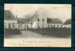 CONTICH: Burgemeester's Woning, gelopen postkaart 1902 (Uitg Hermans) (GA19541)