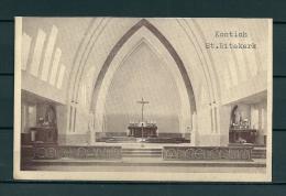 KONTICH: St Ritakerk, gelopen postkaart (Uitg Heuvelmans) (GA19542)