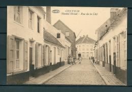 CONTICH: Sleutel Straat, niet gelopen postkaart (Uitg De Herdt) (GA19562)