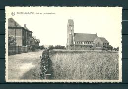 ACHTERBOSCH MOLL: Kerk En Landbouwschool, Niet Gelopen Postkaart (Uig De Sloovere) (GA19609) - Mol