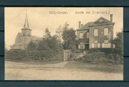 MOL RAUW: Kerk En Pastorij, Niet Gelopen Postkaart (Uitg Thill) (GA19635) - Mol