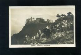 S5331 CARTOLINA FOTOGRAFICA MESSINA TINDARI SANTUARIO - Messina