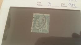 LOT 229202 TIMBRE DE COLONIE TUNISIE OBLITERE N�3 VALEUR 13 EUROS