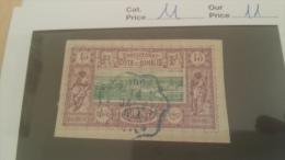 LOT 229207 TIMBRE DE COLONIE SOMALIS OBLITERE N�11 VALEUR 11 EUROS