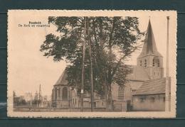 POEDERLE: De Kerk En Omgeving, Gelopen Postkaart 1947 (Uitg Janssens) (GA19727) - Lille