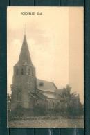 POEDERLEE: Kerk, Niet Gelopen Postkaart (Uitg Janssens) (GA19728) - Lille
