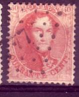 Belgique N° 16a D13.5 N° 170 De La Planche - 1863-1864 Medaglioni (13/16)
