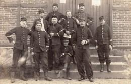 35 - St Aubin Du Cormier - Le Camp De La Lande Douée En 1910- Lot De 2 CARTE PHOTO Originales Identique - France