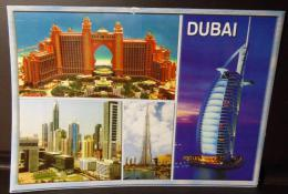 DUBAI 2010 6 Aprile THE NEW FACE OF DUBAI Cartolina Viaggiata Per SURBO (LE) - ITALIA - Vedi Foto - United Arab Emirates